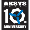 aksys_10th_logo